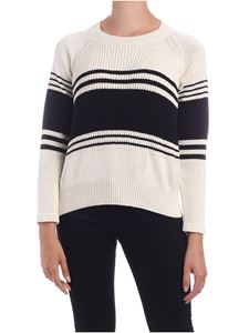 Max Mara Weekend - Ubino pullover in black and cream color