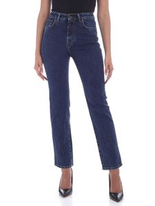 Max Mara Weekend - Bronzo faded jeans in blue