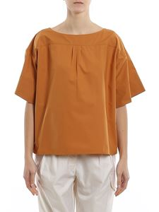 See by Chloé - Oversized blouse in Peanut Butter color