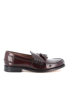 Tod's - Shaded leather loafers