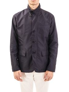 Fay - Technical fabric jacket in blue