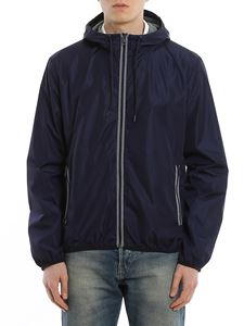 Fay - Contrasting  jacket in blue