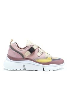 Chloé - Sonnie low top sneakers in pink
