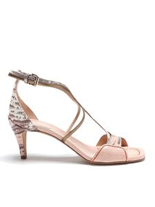 Chloé - Carla heeled sandals in pink