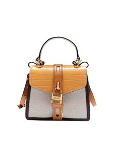 Chloé - Aby small bag in Honey gold color