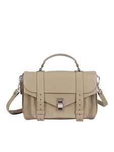 Proenza Schouler - Borsa Ps 1 media color Light Taupe
