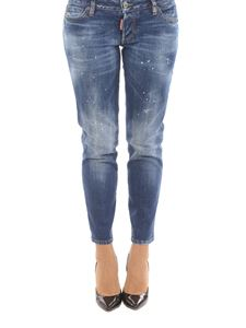 Dsquared2 - Jennifer Cropped jeans with varnish spots