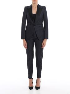 Dsquared2 - Tuxedo style denim suit in blue