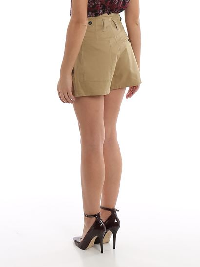 Dsquared2 - Khaki gabardine short pants