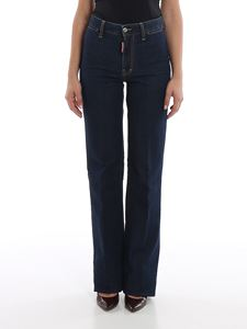 Dsquared2 - Dalma Angel high rise jeans in blue