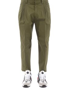Dsquared2 - Stretch cotton gabardine pants