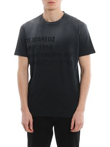 Dsquared2 - Logo printed faded jersey T-shirt