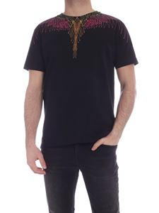 Marcelo Burlon County Of Milan - Bezier Wings t-shirt in black