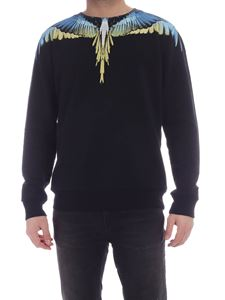 Marcelo Burlon County Of Milan - Wings sweatshirt in black