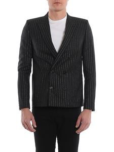Saint Laurent - Lurex striped blazer