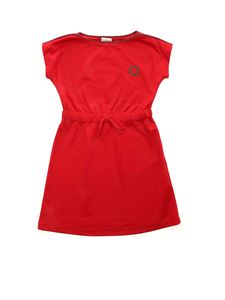Gucci - GG embroidery dress in red