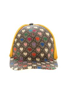 Gucci - Baseball hat with GG and hearts motif