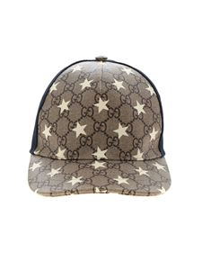 Gucci - GG stars baseball hat in beige