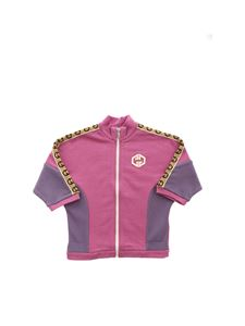Gucci - GG logo sweatshirt in mauve and lilac color