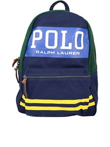 POLO Ralph Lauren - Polo canvas backpack