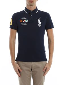 POLO Ralph Lauren - Yacht club pique cotton logoed polo shirt