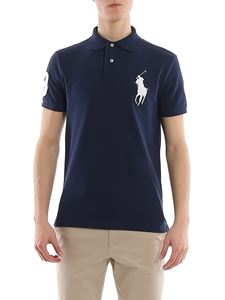 POLO Ralph Lauren - Pique polo shirt in Navy color