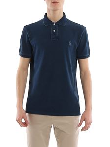 POLO Ralph Lauren - Pique polo shirt in Indigo Blu