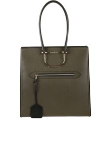 Alexander McQueen - Borsa The Tall Story color Kaki
