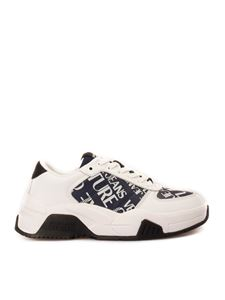 Versace Jeans Couture - Logo print sneakers in white