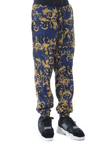Versace Jeans Couture - Sprous Baroque sweat pants in blue
