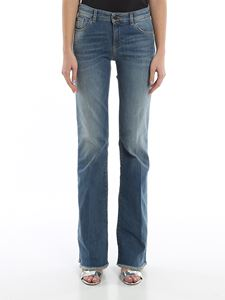 Emporio Armani - Jeans regular fit effetto consumato