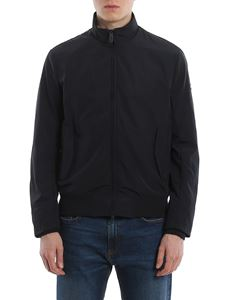 Emporio Armani - Tech fabric jacket in Blu Navy