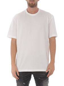 Y-3 - Y-3 print T-shirt in Core White
