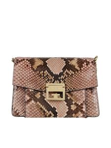 Givenchy - GV3 reptile printed leather small bag