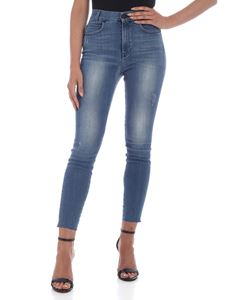 Gaelle Paris - Skinny jeans in washed blue