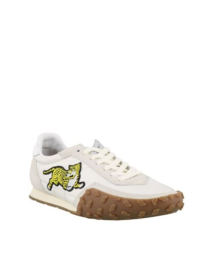 Kenzo - Move sneakers in white and grey