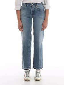 Golden Goose - Jeans Ava color Light Blue Wash