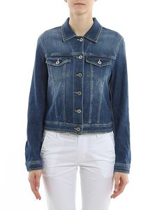 Dondup - Faded denim jacket in blue