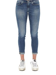 Dondup - Faded denim jeans in blue