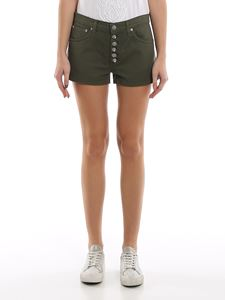 Dondup - Micol shorts in army green