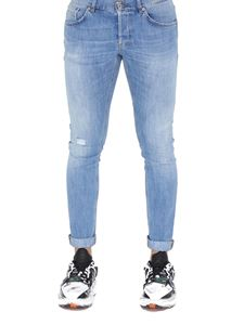 Dondup - Ritchie faded denim jeans in light blue