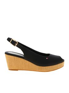 Tommy Hilfiger - Elba wedges in blue