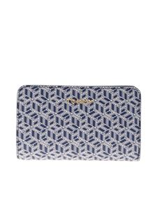 Tommy Hilfiger - Icons wallet in blue and white