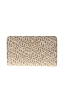 Tommy Hilfiger - Icons wallet in beige and white
