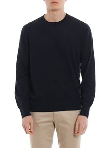 Z Zegna - Crew neck sweater in blue