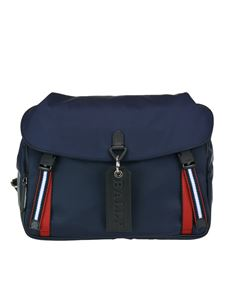 Bally - Catch messenger bag in blue