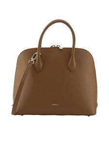 Furla - Shopper Code Dome color Cognac