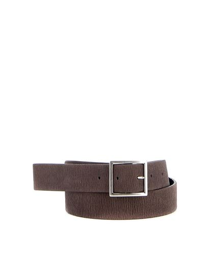Orciani - Long Beach Double leather belt
