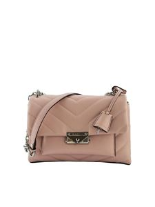 Michael Kors - Borsa a tracolla Cece media color Smokey Rose