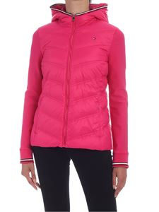 Tommy Hilfiger - Bella down jacket in fuchsia